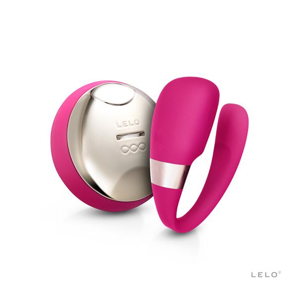 瑞典LELO-TIANI 3 cerise US蒂阿妮3代情侶共振按摩器【無線遙控~櫻桃紅】