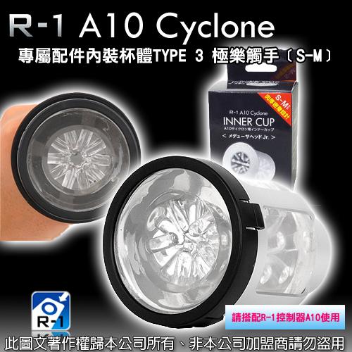 日本原裝進口 R1 A10-CYCLONE 超高速旋風機專屬配件內裝杯體 TYPE 3 極樂觸手﹝S-M﹞