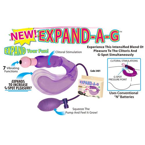 EXPAND-A-G 膨脹G點前列腺按摩器