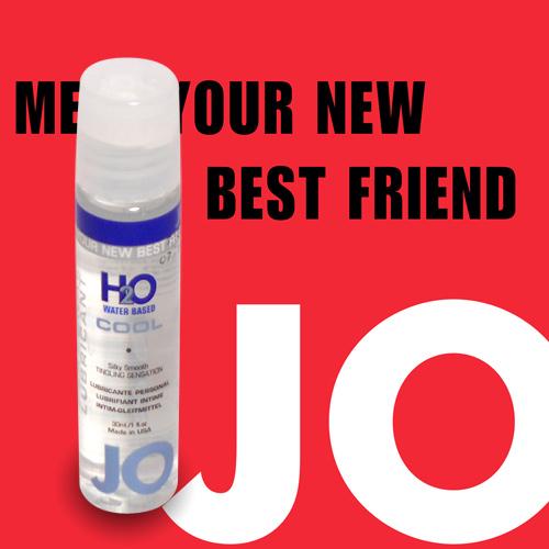 美國JO*H2O Water Based COOL水溶性潤滑液(30ml)冰爽型