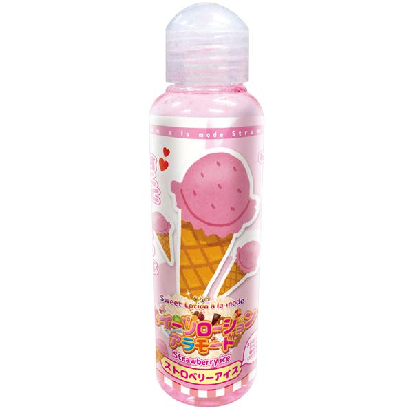 日本Tama Toys* 潤滑液120ML (草莓冰淇淋) 潤滑液.潤滑油