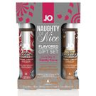 美國JO*JO H2O - CANDY CANE & GINGERBREAD - GIFT SET (WATER-BASED) 1 floz / 30 mL尼斯潤滑油禮品套裝