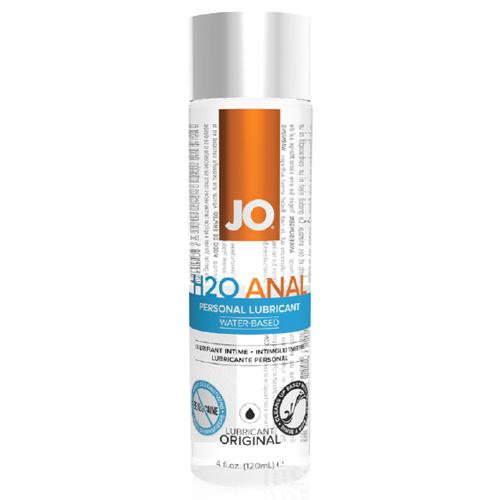 美國JO*JO Anal H2O Lubricant 水溶性潤滑液(4 floz / 120 mL)後庭專用