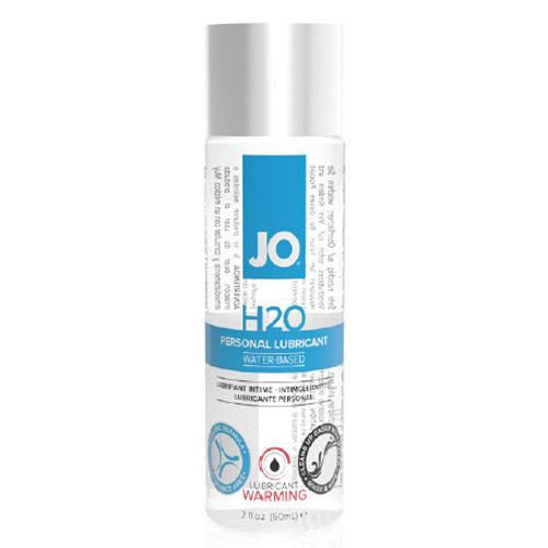 美國JO*H2O Water Based水溶性潤滑液-熱感型(2 floz / 60 mL)
