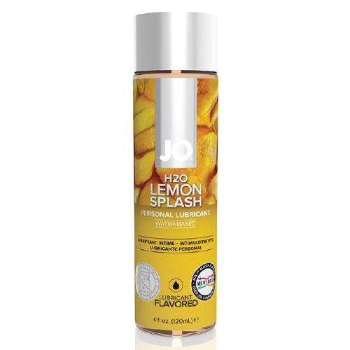 美國JO*H2O水溶性潤滑液-檸檬口味 (可當口交液) 4 floz / 120 mL