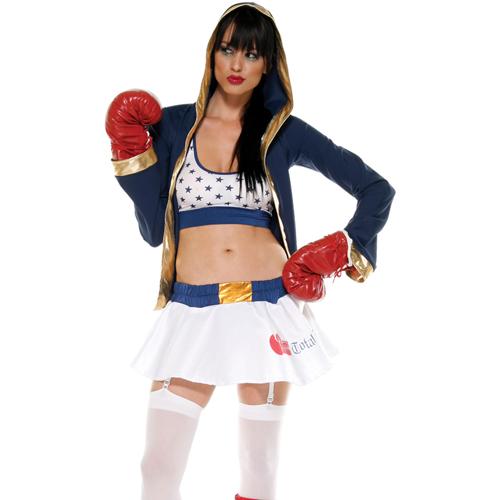 美國【Forplay】拳擊手系列-基本款兩件式造型裝+外套[特惠價!!]