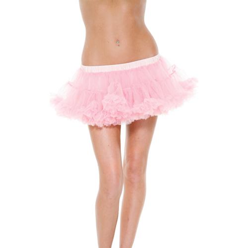 美國【Forplay】雙層薄紗粉色襯裙