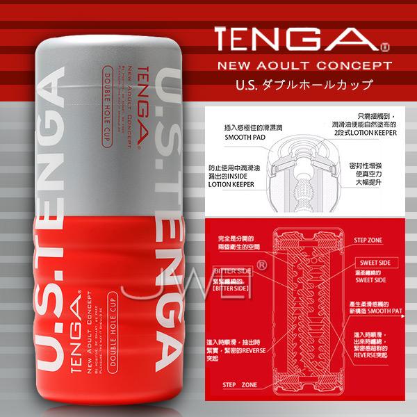 日本 TENGA 體位型男用飛機杯 TOC-004US加大版‧(陰部+後庭雙面可用)標準型
