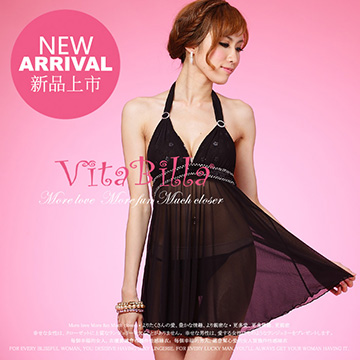 VitaBilla 一代佳人 睡裙+小褲 二件組