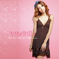 VitaBilla 率性新娘 睡裙+小褲兩件組