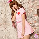 粉嫩天使!二件式護士角色扮演服