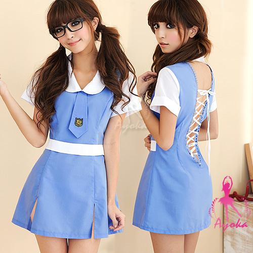 【Ayoka】青澀懵懂!二件式護士學生服