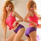 織入情網!透視蕾絲內褲(紫)