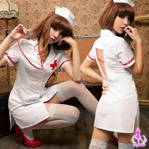 【Ayoka】愛的照護!三件式護士角色扮演服