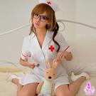 純白俏麗護士角色扮演服