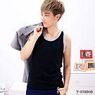 【T-STUDIO】CHU ME系列/100%純棉舒適/中性滾邊/吊嘎束胸內衣(XL)