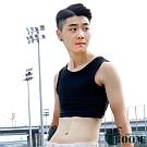 【BOOM】台灣代理香港品牌/加強款/排扣式半身束胸內衣(XL)