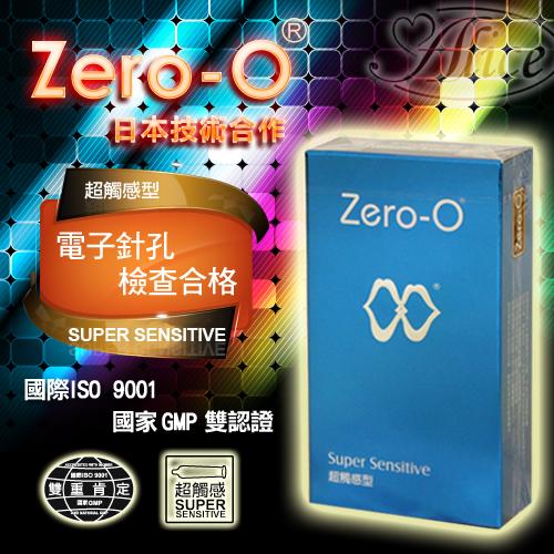 Zero-O衛生套 - 超觸感 12入