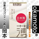 岡本okamoto City - Super Thin透薄型保險套/衛生套10入裝