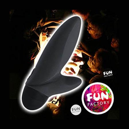 德國 FUN FACTORY FLASH black 閃舞費歐娜-口袋寶貝按摩棒(黑)