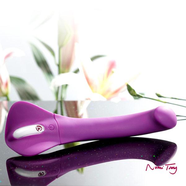 德國Nomi Tang-第二代甜蜜變奏曲wild觸摸式變頻按摩棒-紫