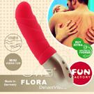 德國 FUN FACTORY FLORA india red 花兒芙蘿拉-口袋寶貝按摩棒(紅)