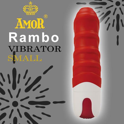情趣用品-新竹竹北~資婷~小棒棒吹水水~德國AMOR-Rambo藍波小寶貝按摩棒-紅~內有開箱文