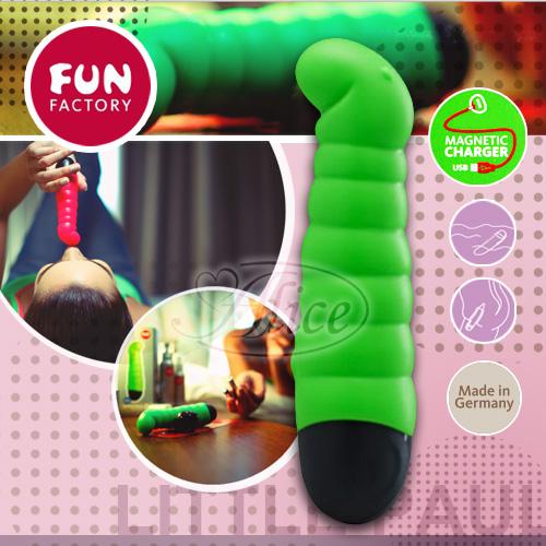 德國 FUN FACTORY miniVIBES Little Paul 寶貝蟲蟲按摩棒(鮮綠)(CNC充電)