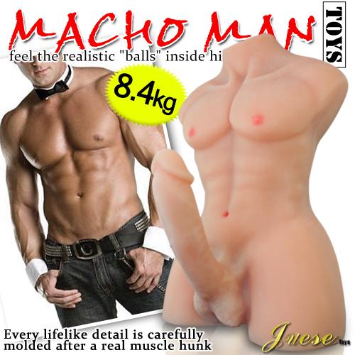 香港Juese-傑克3D立體猛男巨屌自慰器-重量級8點4Kg
