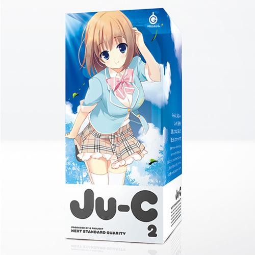 (紅)日本EXE-Ju-C2高級新素材非貫通自慰器(溫和觸感型)完全不黏膩