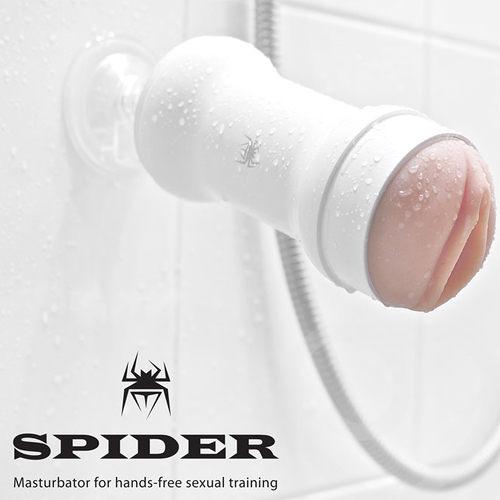 情趣用品-樹林阿義-完美的性-韓國SPIDER-STU訓練大師非手持式性愛姿態模擬吸盤自慰杯(內有開箱文)