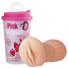 NMC-粉紅巧克力複雜構造自慰杯(情趣用品界的女王開箱文推薦)