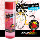 台灣 Chunhao Fruit flavors 水果滋味潤滑液 - 草莓(200ml) +贈送新體驗構造自慰套