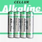 【CELLUX】4號環保鹼性電池(4顆入)