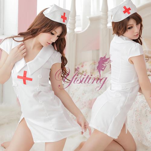 《Yisiting》療癒寶貝!媚惑三件式護士服