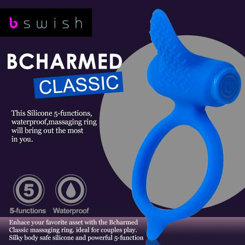 美國BSwish-Bcharmed Classic著迷經典型5段變頻震動環
