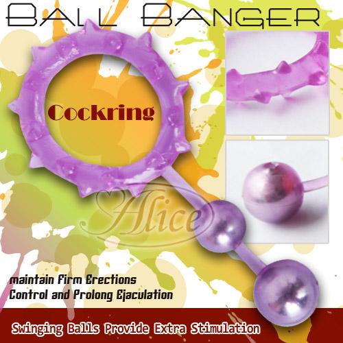 情趣用品-新北-曉萍-老公我的身體你最懂--APHRODISIA.Ball Banger 鋼珠超強力延時持久環(雙球)-內有開箱文