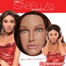 美國原裝進口PIPEDREAM. MIA ISABELLA系列-美國知名雙性女優-伊莎貝拉代言倒模3D真人充氣娃娃(男女可用)