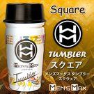 (阿性聖誕慶)日本原裝進口MENS MAX ‧Tuwbler 男用快感自慰杯-Square(幾何通道)