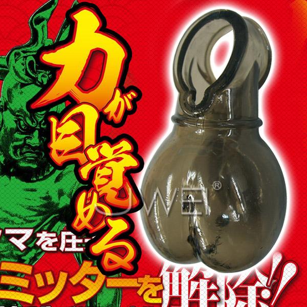 情趣用品-台東東和~桔梗~日本原裝進口A-ONE.RIKIMARU -力丸- 陰囊包覆鎖精鍛鍊套~內有開箱文