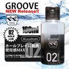 日本原裝進口NPG.GROOVE 02 潤滑液-160ml