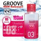 日本原裝進口NPG.GROOVE 03 潤滑液-160ml