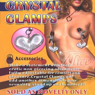 (任選3件999元)6號水晶乳頭夾