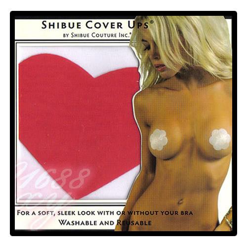 美國SHIBUE Tabue Cover Ups/心型胸貼(紅色)